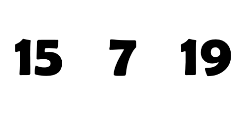 števila
