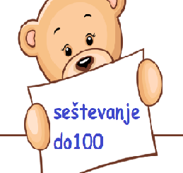 seštevanje do 100