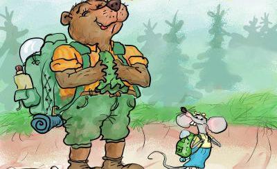 medved in miška