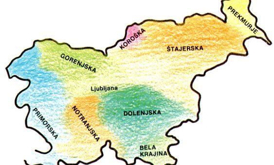 Slovenske pokrajine