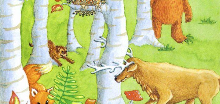 gozdne živali