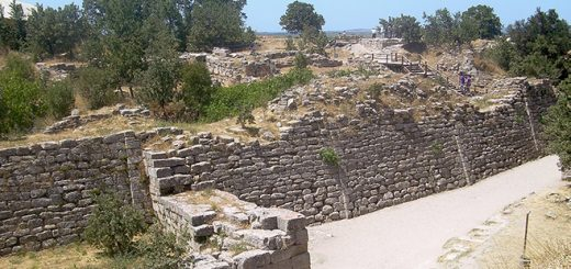 zidovi Troje